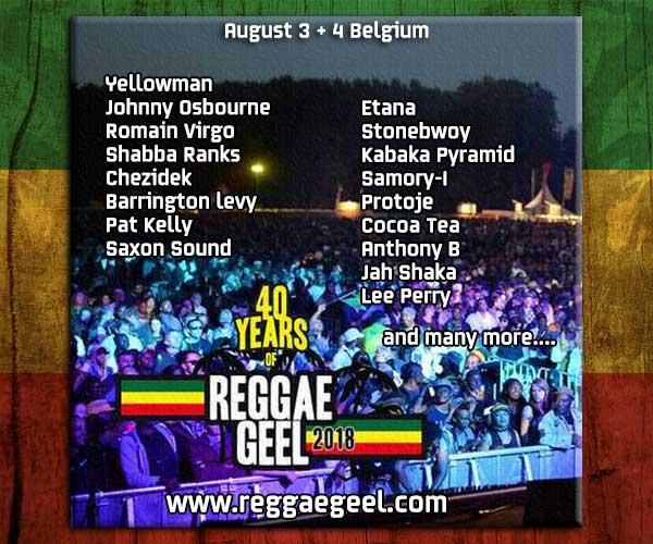 Reggae Geel 2018