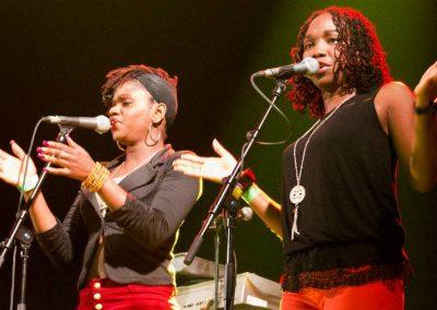Kaushan Band singers Reggae Geel 2016