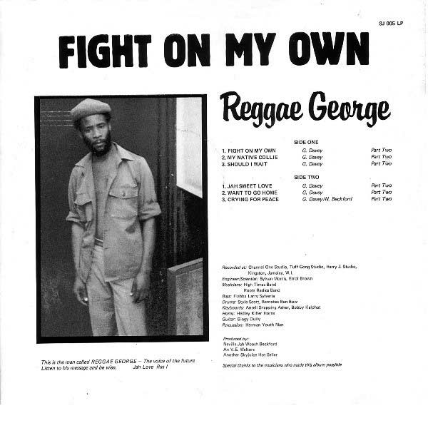 Reggae George - Showcase Album Back