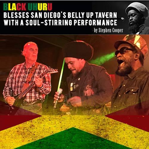 Black Uhuru live in San Diego