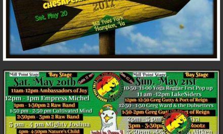 2017 Chesapeake Bay Reggae Festival