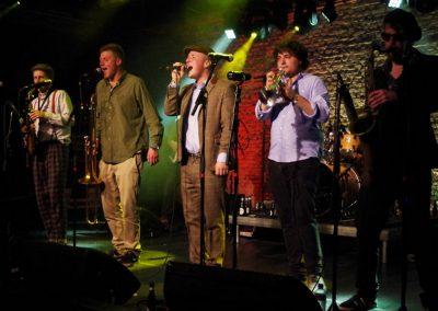 Lead singer & hornsmen