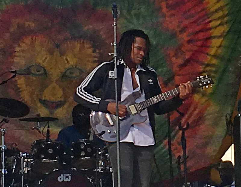Raging Fyah's lead singer Kumar Bent | Courtesy of Stephen Cooper