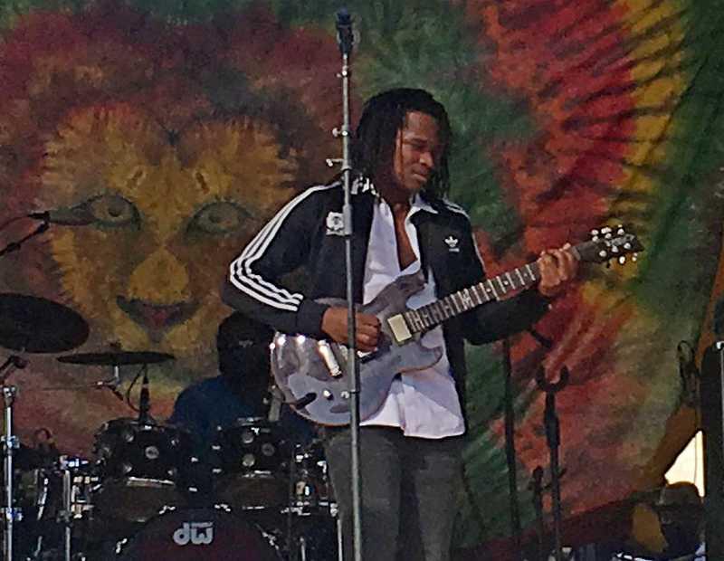 Raging Fyah's lead singer Kumar Bent | Courtesy of Stephen Cooper