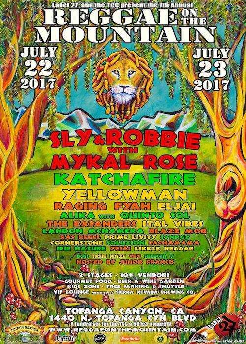 Reggae On The Mountain 2017