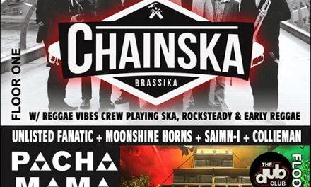 Reggae Geel Brukout – Chainska Brassika 21-04-2016