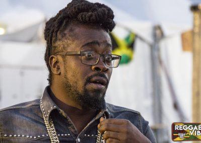 Beenie Man Reggae Geel 2017