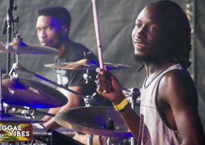 Drummer Iba Mahr Band Reggae Geel 2017