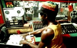 Lee Scratch Perry at Black Ark