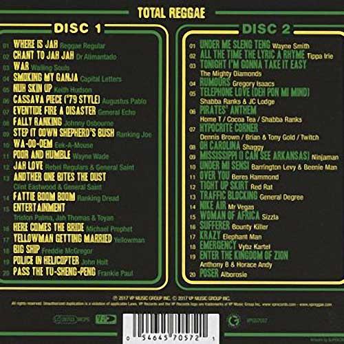 Various -Total Reggae Greensleeves Back