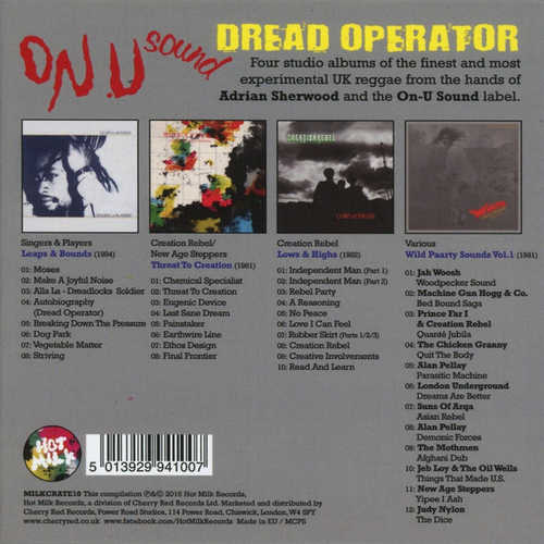 Various - Dread Operator Back