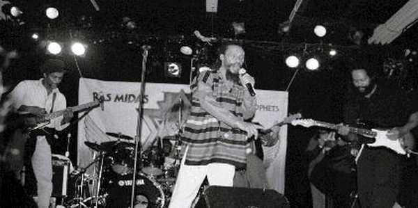Ras Midas, Palookaville in Santa Cruz CA, 2000. (Photo: Diane Adam)