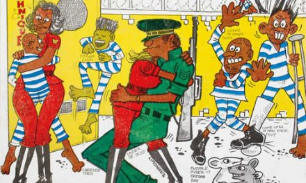 Jamaican illustrator Wilfred Limonious