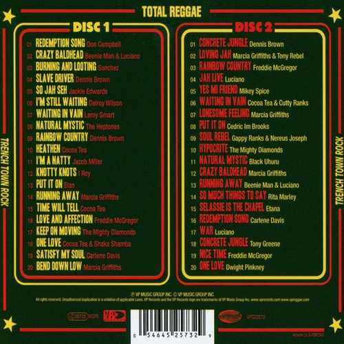 Backsleeve Total Reggae Trench Town Rock