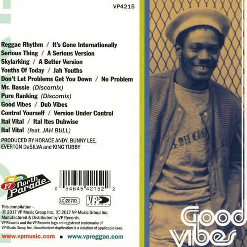 Horace Andy - Good Vibes | Reggae Vibes