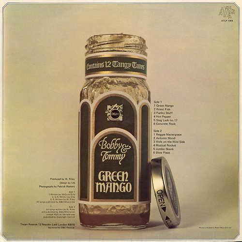 Tommy McCook & Bobby Ellis - Green Mango