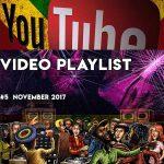 Video Playlist  #5   2017 November  