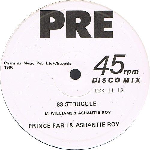 Congo Ashanti Roy - 83 Struggle