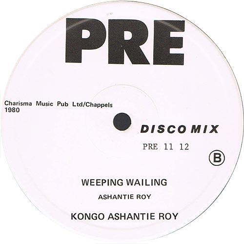 Congo Ashanti Roy - Weeping Wailing