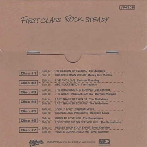 """Backsleeve First Class Rocksteady (7x7"""" Box Set)"""