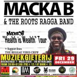 Macka B 'Health is Wealth' Tour @ Muziekgieterij, Maastricht