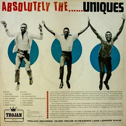 The Uniques - Absolutely The...Uniques