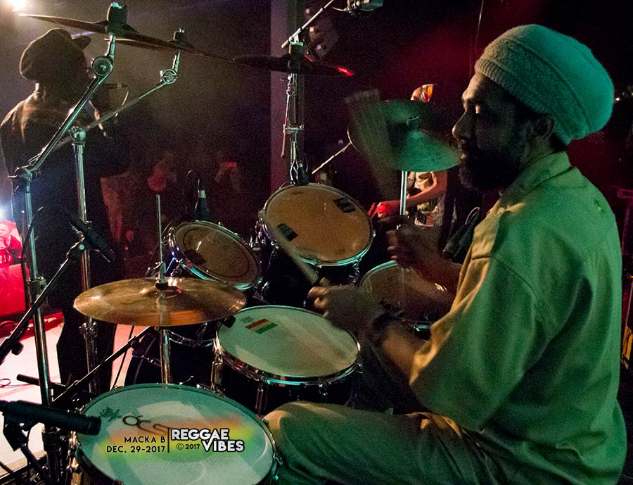 Macka B - Drummer Roots Ragga Band