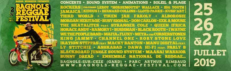 Bagnols Reggaefestival. Get Your Tickets!