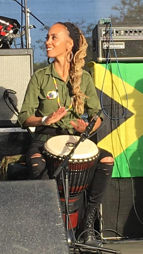 Nattali Rize performing at the 2018 One Love Cali Reggae Festival, Long Beach CA | Photo: Stephen A. Cooper
