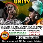 UNITY w/ Samory I, Hempress Sativa & More