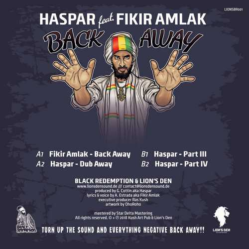 Backsleeve Fikir Amlak - Back Away