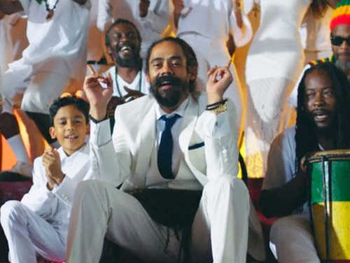 """Damian Marley's new video: """"Living It Up"""""""