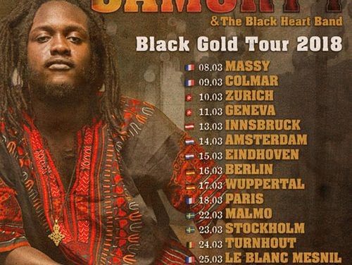 Samory-I will start his Black Gold Tour very soon