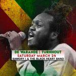 Samory I & The Black Heart Band @ De Warande, Turnhout