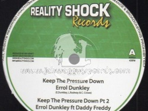 Errol Dunkley – Keep The Pressure Down