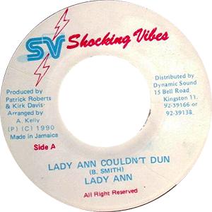 Lady Ann - Lady Ann Couldn't Dunn.