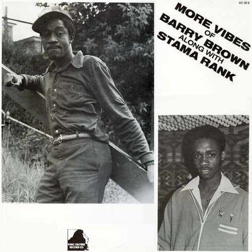 Barry Brown along with Stama Rank – More Vibes Of..