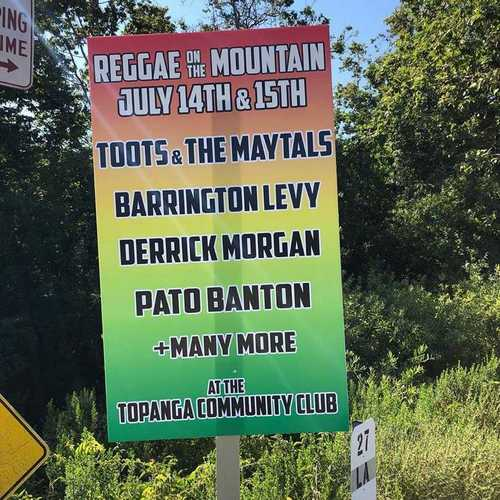 Reggae On The Mountain
