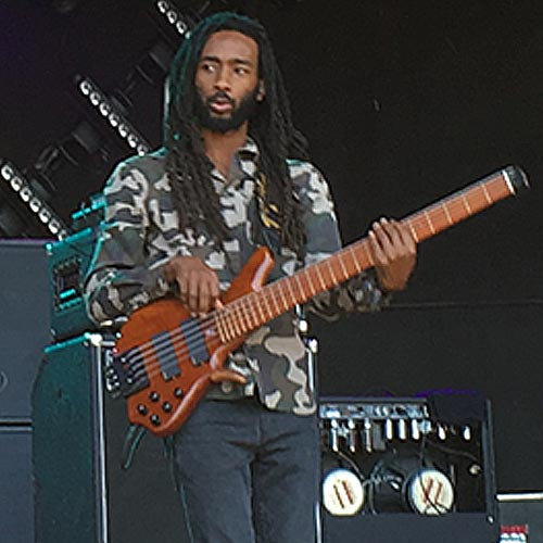 "Raging Fyah's Delroy ""Pele"" Hamilton (Photo: Stephen Cooper)"