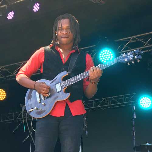 Raging Fyah's Kumar Bent (Photo: Stephen Cooper)