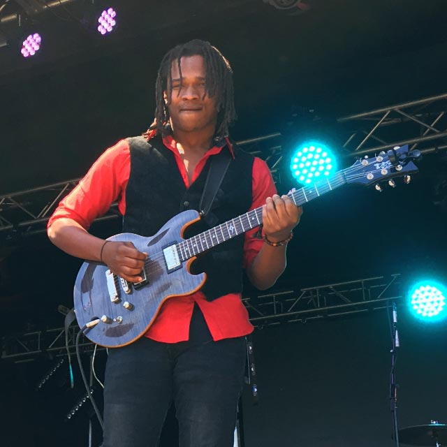 Raging Fyah's Kumar Bent (Photo: Stephen A. Cooper)