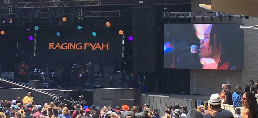 Raging Fyah performing