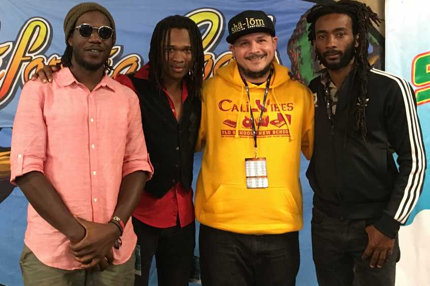 Raging Fyah with Stephen Cooper