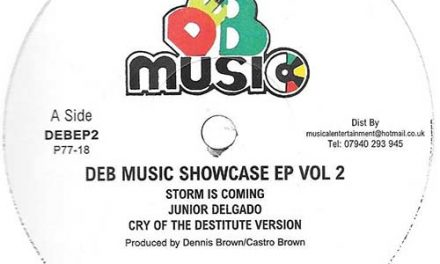 DEB Music Showcase EP Vol. 2: Junior Delgado – Storm Is Coming