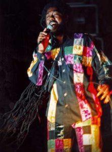 Johnny Clarke @ Reggae Geel 1994 (Photo: Teacher)