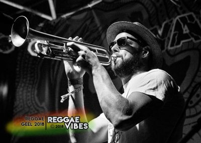 Cedric Van Overstraeten / Collieman Band - Reggae Geel 2018