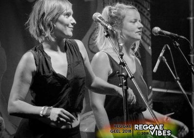 Background Singers / Collieman Band - Reggae Geel 2018