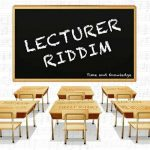 Lecturer Riddim new from Stingray