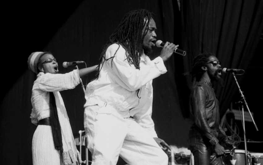 Black Uhuru at Crystal Palace Sunsplash, London UK, 7 July 1984 (Photo David Corio)