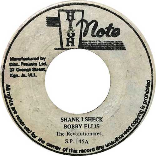 Bobby Ellis - Shank I Sheck (1977)